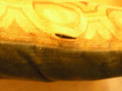 """Pair of Antique Aubusson Tapestry Huge Pillows 22x22x5"""" / 55x55x13cm Velvet Back 10"""