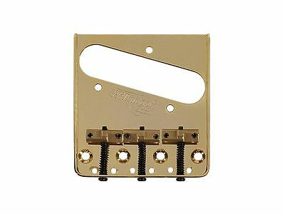 Wilkinson Compensated Bridge for Telecaster With Brass Saddles