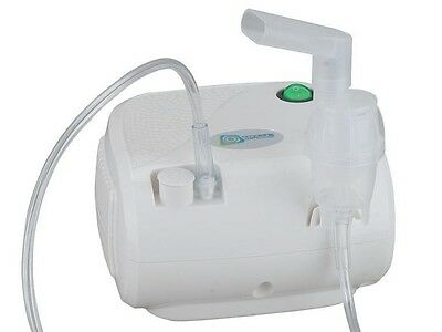 Inhaliergerät Inhalator Inhalation Inhaler Aerosol Vernebler Kompressor Omnibus 10