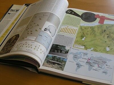 Hammond Past Worlds The Times Atlas of Archaeology Hardcover Brown Cloth @ 1988 10