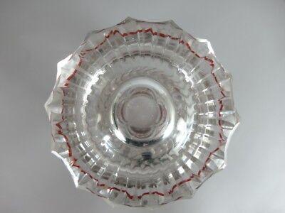 Andenken Ansichten- Becher Glas gebeizt, TEPLITZ, um 1850  -1860  AL83 8
