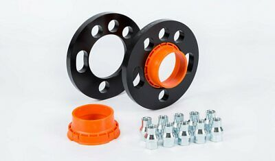 10 x Black Wheel Spacer Shallow Nuts Fits Ford Focus RS ST