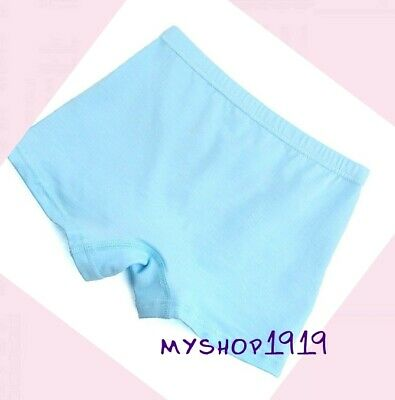 5 Pack Girls Boxer Shorts Soft Briefs Knickers Underwear Boxers Age 2-12 years 3