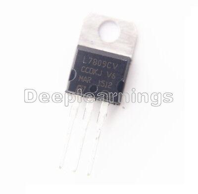 20pcs L7809CV L7809 LM7809 Voltage Regulator 9V 1.5A