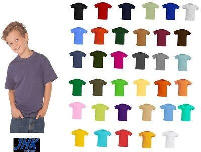 Maglietta Bambino Manica Corta Jhk T-Shirt Bambino Canotta Personalizzabile 2