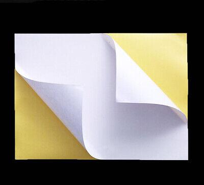 Feuille Papier Autocollante A4 Multi usages timbres en ligne (non prédécoupé) 2