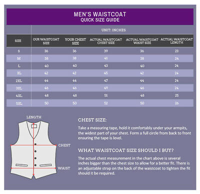 DQT Mens Waistcoat High Quality Plain Solid Formal Tuxedo Wedding Grooms Vest