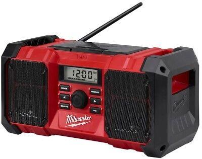 Milwaukee Cordless Jobsite Radio M18 Lithium-Ion Digital AM FM Tuner Audio New 4