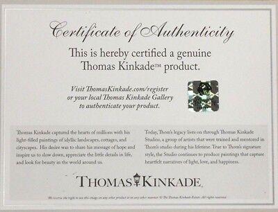 Thomas Kinkade Studios Winnie the Pooh I 14 x 14 Gallery Wrapped Canvas Disney 2