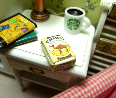 2pcs Dollhouse Miniature 1:12 Cigarette Tobacco Pack Model Bar Room Store Decor 3