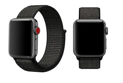 Woven Nylon Band For Apple Watch Sport Loop iWatch Series 4/3/2/1 38/42/40/44mm 5