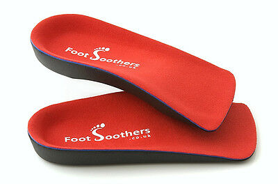 FootSoothers™ R3D 3/4 Orthotic Insoles Arch Support Inserts Fallen Arches Flat 3