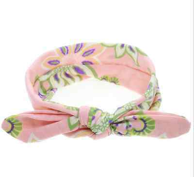 Baby Toddler Girls Kids Bunny Rabbit Bow Knot Turban Headband Hair Band Headwrap 8