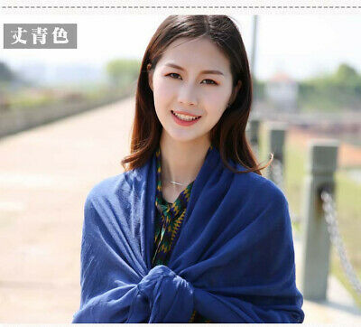 US Seller- 12 Discount Scarf scarves plain casual light weight shawls wholesale 12