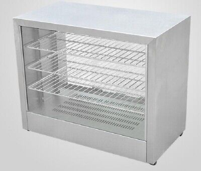 B New Commercial Hot display case Pie warmer shelves Countertop 4