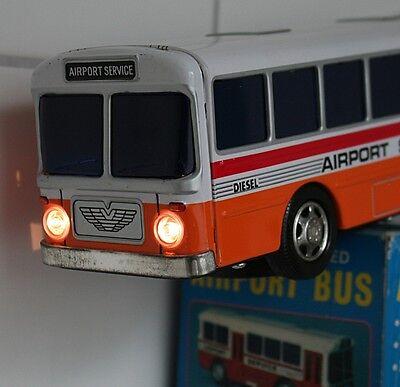 Original Alps Airport Service Bus aus den 70ern, Blech, OVP, Super Zustand 4