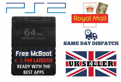 Free MCBoot 1.966 PS2 64MB Memory Card - Playstation 2 - (OPL ESR SNES MORE) 2