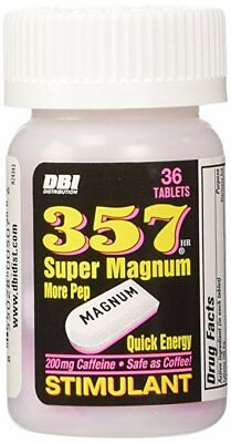 6x Bottles 357 Super Magnum Stimulant - 36 Tablets Energy Weight Loss Fat Burn 2