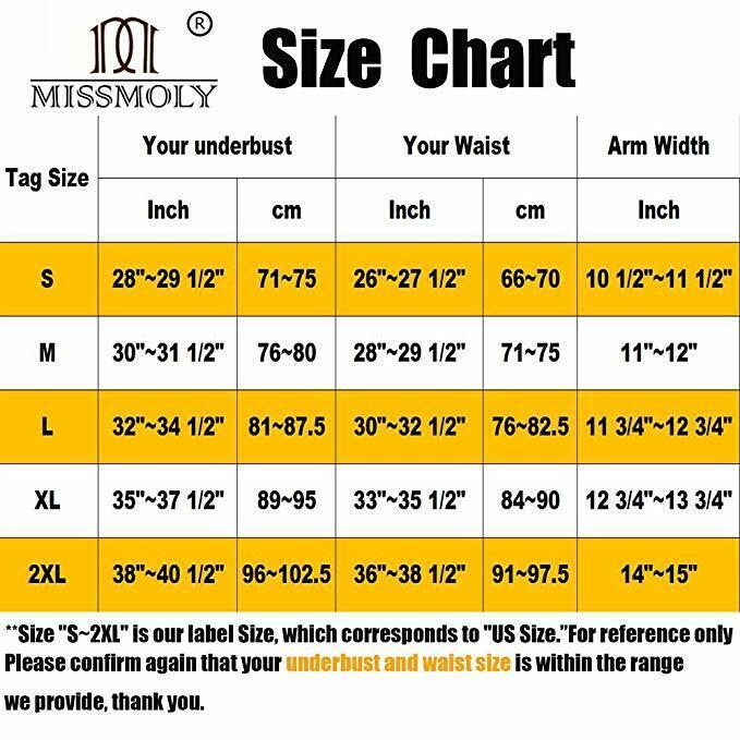 Faja De Compresion Para Mujer Talladora De Brazos y Corrector Postura Sujetador 7