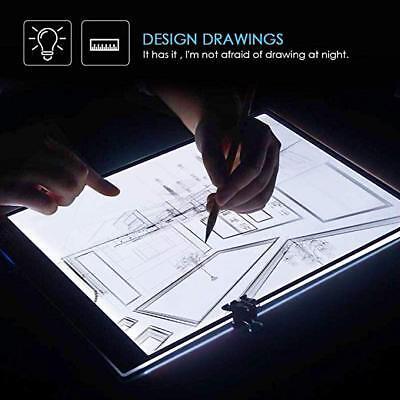 A3 A4 LED Ultra Slim Art Craft Drawing Copy Tracing Tattoo Lights Box Pad Board 2