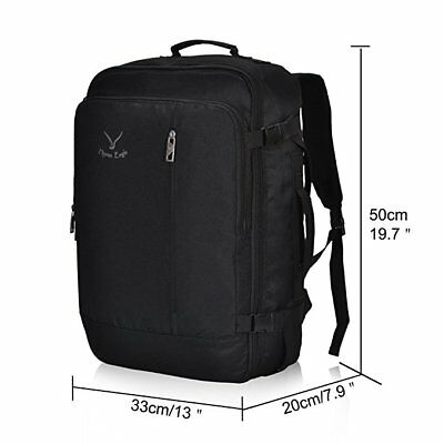 b42425f30bbb ... Hynes Eagle 38L Flight Approved Weekender Carry on Backpack W  Packing  Cubes Set 9