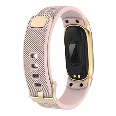 Waterproof Smart Bracelet IP67 Heart Rate Blood Pressure Fitness Tracker Watch 4