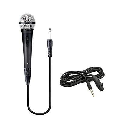 Microfono Dinamico per Musica VOCE Karaoke Canto con CAVO Filo XLR 3mt 2