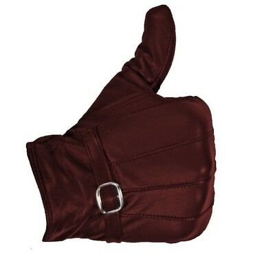 Ladies Leather Gloves Women Real Soft Fleece Lined Winter Casual Driving Warm 6
