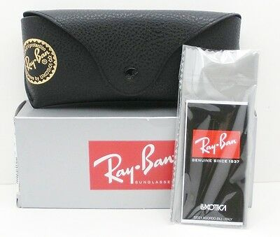 205ba01550 ... Ray Ban 3136 181 71 Caravan Gold Grey New Sunglasses Authentic Made In  Italy 4