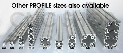 600mm PROFILE 30 -30x60 ALUMINIUM T-SLOT FRAME PROFILE EXTRUSION SYSTEM 3060 CNC