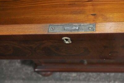 Walnut Regency Chest Drawers Commode Furniture 8