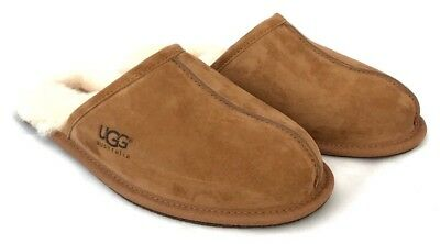 342cf1ae002 ... Ugg Mens Scuff Slippers Water Resistant Suede Black