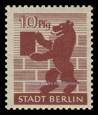 EBS Germany 1945 Soviet Occupation Berlin Bear Berliner Bär Michel SBZ1-7A MNH** 6