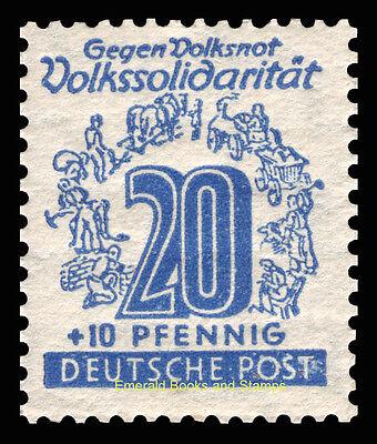 EBS Germany 1946 Soviet Zone - West Saxony - Volkssolidarität set 138-149 MNH** 9