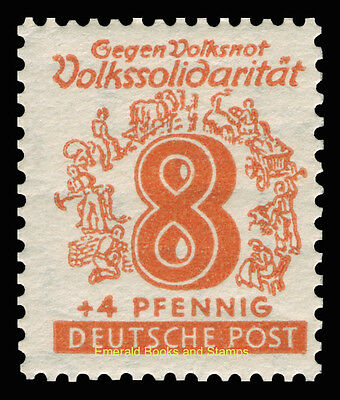 EBS Germany 1946 Soviet Zone - West Saxony - Volkssolidarität set 138-149 MNH** 6
