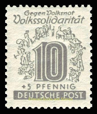 EBS Germany 1946 Soviet Zone - West Saxony - Volkssolidarität set 138-149 MNH** 7