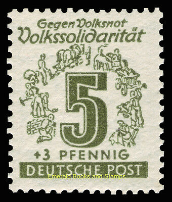 EBS Germany 1946 Soviet Zone - West Saxony - Volkssolidarität set 138-149 MNH** 4
