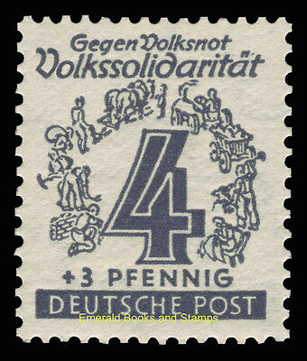 EBS Germany 1946 Soviet Zone - West Saxony - Volkssolidarität set 138-149 MNH** 3