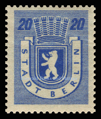 EBS Germany 1945 Soviet Occupation Berlin Bear Berliner Bär Michel SBZ1-7A MNH** 7
