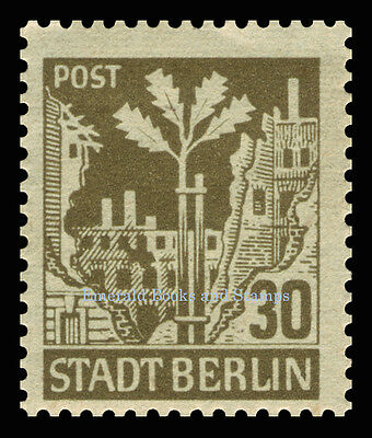 EBS Germany 1945 Soviet Occupation Berlin Bear Berliner Bär Michel SBZ1-7A MNH** 4