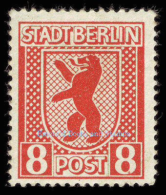 EBS Germany 1945 Soviet Occupation Berlin Bear Berliner Bär Michel SBZ1-7A MNH** 9