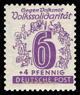 EBS Germany 1946 Soviet Zone - West Saxony - Volkssolidarität set 138-149 MNH** 5