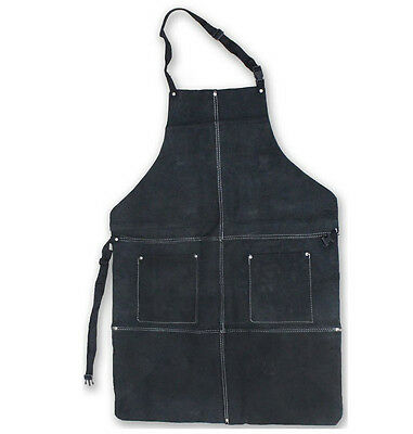 Genuine Split Leather Shop Apron Wood Work Carpenter Blacksmith HAWK AL001A