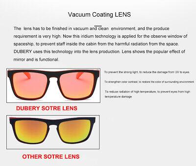 DUBERY Men Women Polarized Sunglasses Outdoor Sport Driving Fishing Shades UV400 6