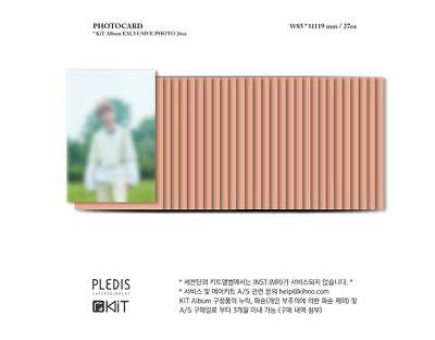 SEVENTEEN 3RD ALBUM An Ode K-POP KIHNO + PHOTOCARD SET SEALED 4