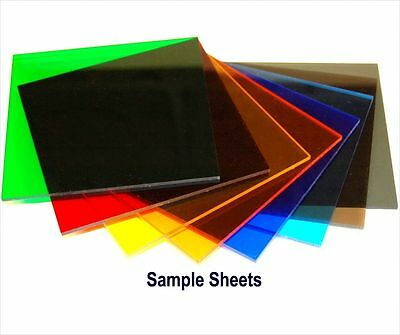 "4/""x12/""x1//8/"" Colored Acrylic sheets Plastic Plexiglass Craft-SAVE COMBO S/&H 1"