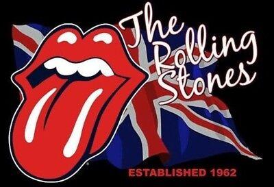 The Rolling Stones Rose Gold Tongue Necklace /& Bracelet Set
