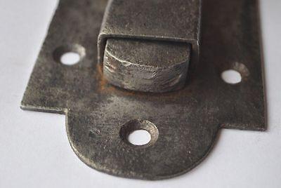 1900s Imperial Russia Interesting Solid Metal Slide Door Lock NICE 5