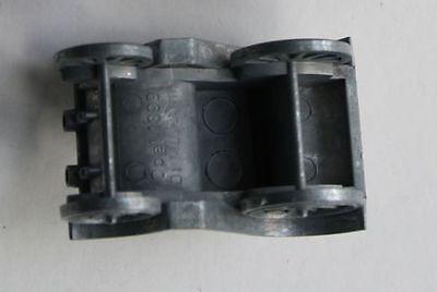 2 ALTE SPIELZEUG Auto Eisen Gußeisen Silber Räder Steuer