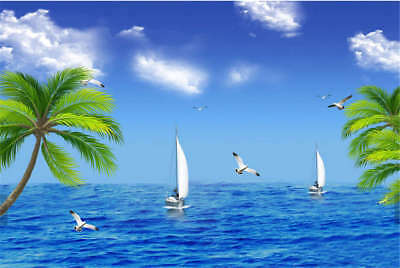 Deep Concise Water 3D Full Wall Mural Photo Wallpaper Printing Home Kids Decor